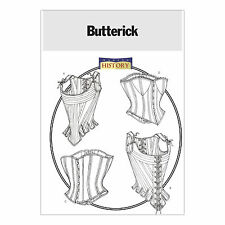 Butterick 4254 Sewing Pattern to MAKE Historic Lined Stays & Corsets