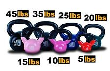 New MTN Vinyl Coated Cast Iron Kettlebells Weight Dumbbells Kettlebell