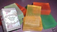 Large 6oz Transparent Glycerin Bath Bar Soap Just For Women * Many Fragrances *