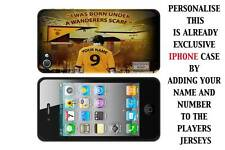 PERSONALISED UNOFFICIAL WOLVERHAMPTON WANDERERS IPHONE TPU SILICONE CASE