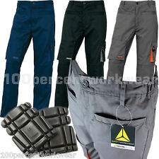 Delta Plus Panoply M2PAN Mens Work Trousers Pants Cargo Combat + FREE Knee Pads