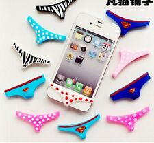 Sexy Lady Underwear Thong Soft Silicone Home Button Case Cover For iPhone4/4S/5