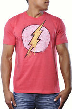 The Flash DC Comic Superhero Lightening Logo Streetwear Tee Shirt Fashion Top