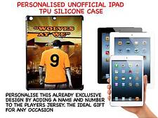 PERSONALISED UNOFFICIAL WOLVERHAMPTON WANDERERS IPAD HARD SILICONE CASE