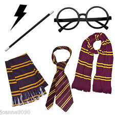 WIZARD FANCY DRESS COSTUME BOOK WEEK HARRY POTTER STYLE ACCESSORIES MAGIC LOT