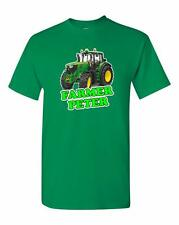 John Deere 6930 6430 Tractor Childs New Kids Rear Quality T Shirt Age 5 To 13
