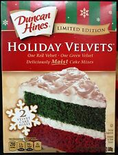 Duncan Hines Signature Classic Moist Deluxe Holiday Cake Cupcake Mix ~ Pick One