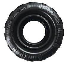 Kong Extreme TRAXX Rubber Tire Shaped Chew + Treat Dog Fetch Toy CHOOSE SIZE