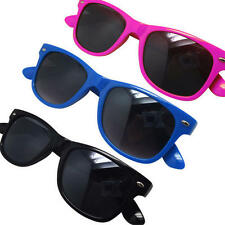 Childs Childrens Kids Wayfarer Aviator Sunglasses Shades -  Pink Blue or Black