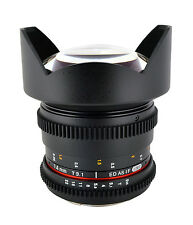 Rokinon 14mm T3.1 Ultra Wide Cine Lens for Canon, Nikon, Sony A & Sony E