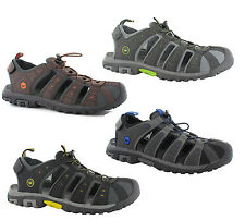 Mens Hi-Tec Shore Sports Adventure Trail Walking Closed Toe Sandals Shoes 7-12