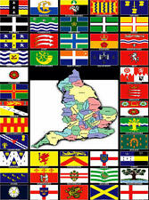 English County Counties British Cricket Festival Flag Selection 5ftx3ft England