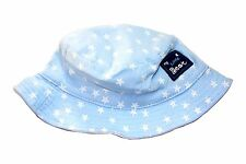 Boys Girls kids Baby Children Beach Travel star Cotton Bucket Sun Hat Cap 0-8yrs