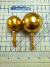 Flagpole Gold Ball Aluminum Topper Ornament Finial