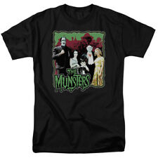 The Munsters Normal Family Portrait NBC TV Show T-Shirt Tee