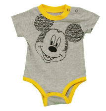 Mickey Mouse Word Ears Disney Cartoon Baby Creeper Romper Snapsuit