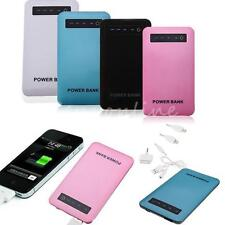 Ultra Thin 6000mAh Power Bank Portable Battery Charger for iPhone 5S 5C Note 3 2