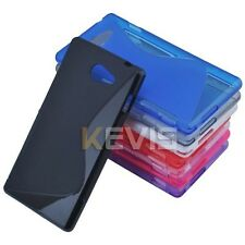 New S Soft TPU Gel Cover Case For Sony Ericsson Xperia M2 S50H