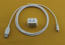 6 Ft Micro USB Cable + OEM Samsung 2A Rapid Home Wall Battery AC Adapter Charger