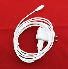 10 Feet Micro USB Charger Cable + OEM Samsung 2A Rapid Home Wall Travel Adapter