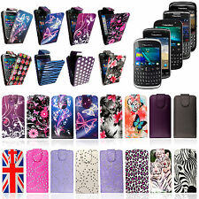 New Stylish PU Leather Magnetic Flip Case Cover  For Various BLACKBERRY Phones