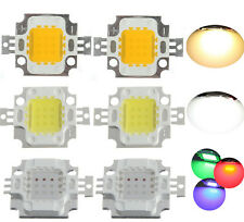 2014 10W Warm/Cool/RGB High Power LED light SMD Chip DIY For bulb lamp