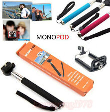 Selfie Extendable Pocket Size Handheld Self Portrait Phone Camera Monopod+Holder