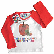 The Very Hungry Caterpillar ex store long sleeve  top 9mths - 5 years