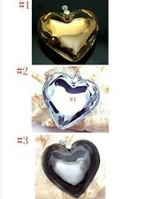 Fine 3D Exquisite Lampwork Murano Glass Heart beaded Pendant for Necklace P205