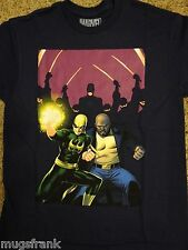 Iron Fist and  Luke Cage Daredevil Marvel Comics T-Shirt