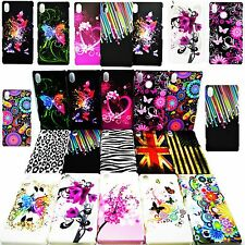 Hot Flower Skin Hard Shell Plastic Back Cell Phone Cover Case For Sony Xperia Z2
