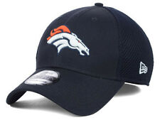Denver Broncos Neo Primary Color Mesh New Era 3930 Navy Blue NFL Fitted Hat Cap