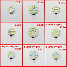 New G4 AC/DC 12V 5050 3528 5730 SMD LED Car Boat Light Pure/Warm White Bulb Lamp