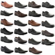 New Mens Italian Casual Formal Work Brogue Ankle Office Wedding Boots Shoes 6-12