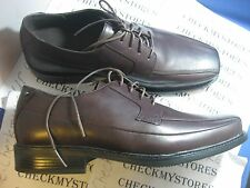 NEW Rockport Men's  FELSON K70881 PREMIUM LEATHER OXFORD SUPERIOR COMFORT