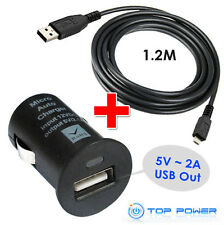 FIT for Navigon GPS System AC dc Auto Car Adapter USB Data Cable Charger Supply