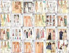 McCalls Sewing Pattern Misses Bridal Evening Gown Bridesmaid Prom Formal Dress