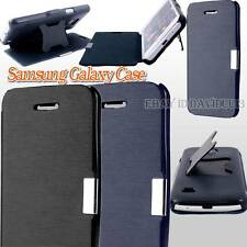 NEW SAMSUNG GALAXY ULTRA SLIM FITTED COVER FLIP LEATHER Magnetic STAND CASE CASE