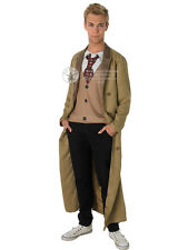 Adult Dr Who 10Th Doctor David Tennant Outfit Fancy Dress Costume Gents Male