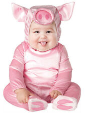 Child Infant Piggy Outfit Fancy Dress Costume Animal Farm Kids Boys Girls