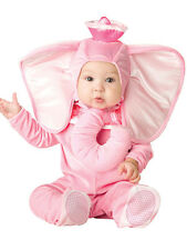Child Pink Nelly Elephant Kids Fancy Dress Zoo Animal Costume Toddler Boys Girls