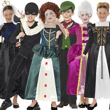 Child Horrible Histories Tudor Victorian Book Week Fancy Dress Costume Girls Boy