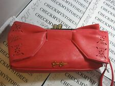 NEW NWT Jessica Simpson Bella Bow Clutch Handbag Purse night/prom,#  7420