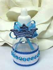 10 Baby Boy Royal Prince Baby Shower Bottle Favor Favors Keepsake Royal Party