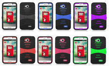 U-Stand Hybrid Cover Case LG Optimus Exceed 2 VS450PP Phone