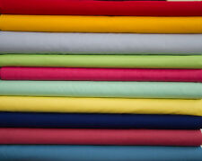 """44/45"""" BROADCLOTH Poly/Cotton WHOLESALE FABRIC - 20 Yard Bolt - 45 Colors"""