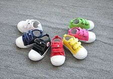 Infant canvas star kids boys girls baby Spring shoes toddlers sneakers UK cs110