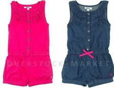 NEW YOUNG GIRLS DKNY SLEEVELESS SUMMER ROMPER JUMPSUIT! ADORABLE! VARIETY!