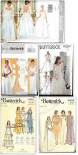 OOP Butterick Sewing Pattern Misses Bridal Bridesmaids Gowns Wedding Dress