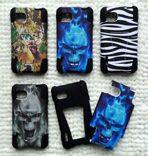HYBRID Faceplate Phone Cover T-STAND DESIGN Case For LG Optimus F3